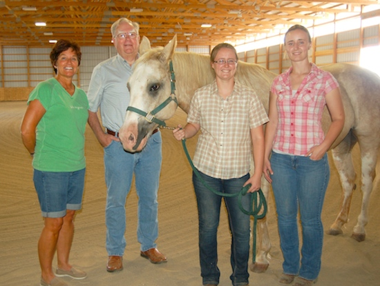 Horses' Hoofbeats set the pulse of a new business