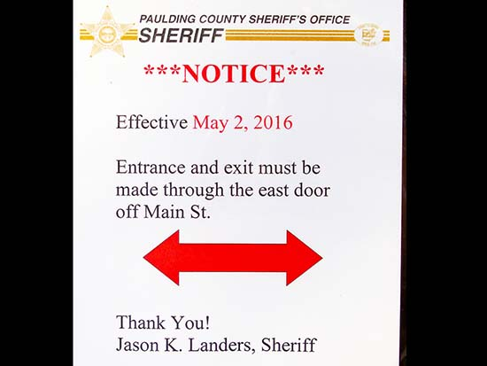 Increased courthouse security begins May 2