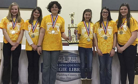Payne Elementary again Battle of the Books champs