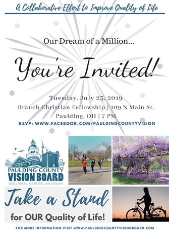 County's Vision Board to raise $1 million for quality of life projects