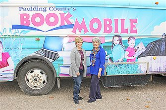 Bookmobile parks for the final time